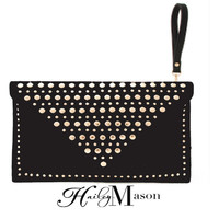 Studded Envelope Clutch  - HaileyMason, LLC Store