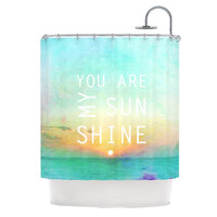 "Alison Coxon ""You Are My Sunshine"" Shower Curtain 