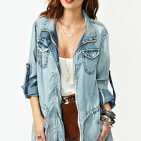 Denim Daze Anorak in What&#x27;s New at Nasty Gal