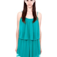 DRESS WITH FRILL DETAIL - DRESSES - WOMAN -  PULL&BEAR United Kingdom