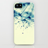 droplets of aqua iPhone & iPod Case by ingz