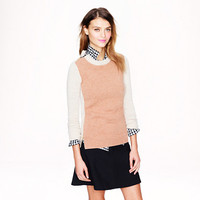 Double-zip sweater in colorblock - sweaters - Women's new arrivals - J.Crew