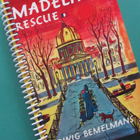 MADELINE'S RESCUE Journal Notebook by PortElizabethVillage on Etsy