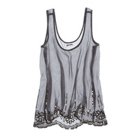 Aerie Sequin Chiffon Tank | Aerie for American Eagle