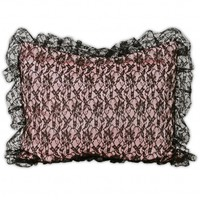 Wake Up Frankie - Racy Lacey Standard Sham : Teen Bedding, Pink Bedding, Dorm Bedding, Teen Comforters