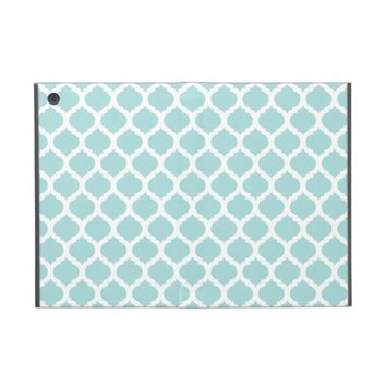 Blue Moroccan Pattern iPad Mini Powis Case Cover For iPad Mini