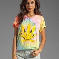 UNIF Happy Weed Graphic Tee in Multi