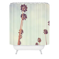 DENY Designs Home Accessories | Catherine McDonald Streets Of Los Angeles PALM TREE Shower Curtain - CYBER MONDAY SALE!!