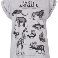 Party Animals Tee By Tee And Cake - Tops  - Clothing