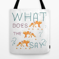 FOX by Monika Strigel and NIKA Tote Bag by Nika