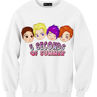 5SOS Drawing By S Sweatshirt | Yotta Kilo