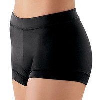 Solid Color Banded Bottom Dance Shorts; Balera