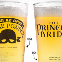Princess Bride Beer Pint Glass
