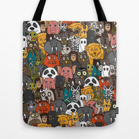 plushies Tote Bag by Sharon Turner