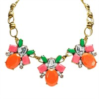 Troy Designs Juniors Multi Jewel Chain Link Necklace at Von Maur