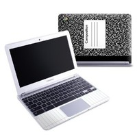 Composition Notebook Design Protective Decal Skin Sticker (High Gloss Coating) for Samsung Chromebook 11.6 inch XE303C12 Notebook