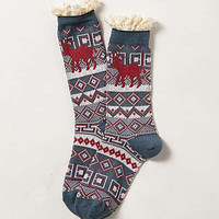 Ruffled Camp Socks