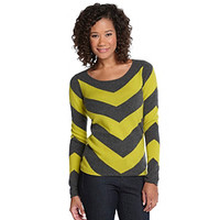 Olivia & Grace Cashmere Chevron Stripe Sweater at www.younkers.com