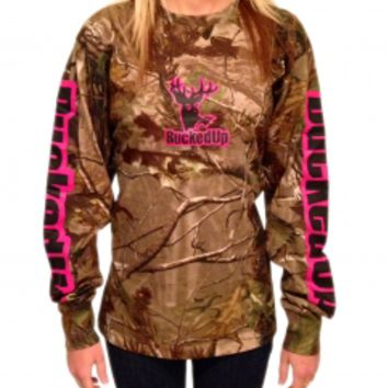 Longsleeve - Realtree APG Camo with Pink LogoPurchase