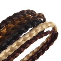 Fashion Pretty Girl Plait Braided Hair Headband Plaited New
