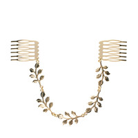 ASOS Grecian Leaf Hair Combs