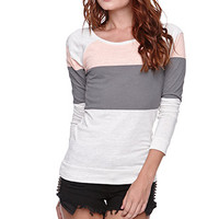 Nollie Long Sleeve Color Block Tee at PacSun.com