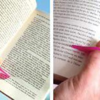 Thumb Thing Book Holder