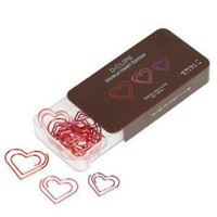 Heart Clipped a Beat Paperclips | Mod Retro Vintage Desk Accessories | ModCloth.com
