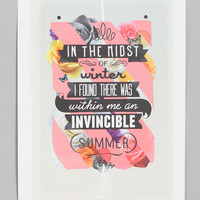Matthew Kavan Brooks Invincible Summer Print - Urban Outfitters