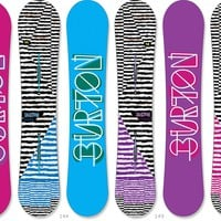 Burton Feather Snowboard - Women's - 2013/2014