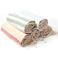 Poketo Turkish Pestemal Towels Natural