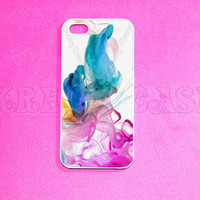 iPhone 5c Case, iPhone 5 case, Colorful Smoke iPhone 5c Case, iPhone 5c Cover, Unique iPhone 5c Case