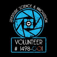 Aperture Science Volunteer T-Shirt | SnorgTees