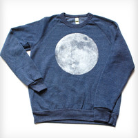 Full Moon Sweatshirt - Navy Heather