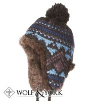 Wolf & York Bolam Trapper Hat - Midnight Blue