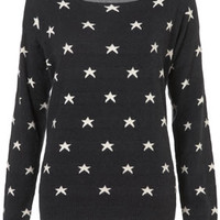 Knitted Shimmer Star Jumper - Sweaters - Knitwear  - Clothing