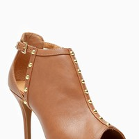 Wild Diva Cognac Cut Out Peep Toe Booties @ Cicihot Heel Shoes online store sales:Stiletto Heel Shoes,High Heel Pumps,Womens High Heel Shoes,Prom Shoes,Summer Shoes,Spring Shoes,Spool Heel,Womens Dress Shoes,Prom Heels,Prom Pumps,High Heel Sandals