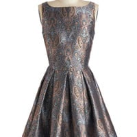 BB Dakota Classic Stunner Dress in Paisley | Mod Retro Vintage Dresses | ModCloth.com