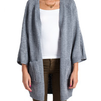 Short Sleeved Cable Knit Cardigan | 2020AVE