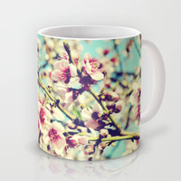 Nectarine Blossoms Mug by Around the Island (Robin Epstein)