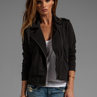 Bobi Moto Jacket in Black