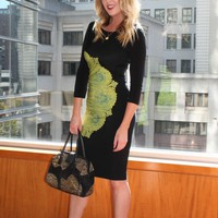 Fashion | Ruched BCBG Dress | COASTAL MIGRATION