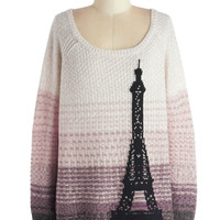 Paris Sunrise Sweater | Mod Retro Vintage Sweaters | ModCloth.com