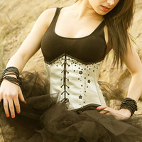 TITELLE underbust corset  Queen of the star 2012 by TitelleCouture