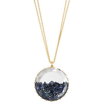 Renee Lewis Blue Sapphire Shake Large Pendant Necklace at Barneys New York at Barneys.com