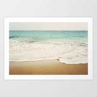 Ombre Beach  Art Print by Bree Madden