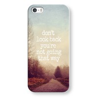 dont look back iPhone & iPod case by Sylvia | Casetagram