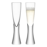 ELINA CHAMPAGNE FLUTES - SET OF 2