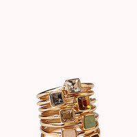 Simply Stated Stackable Ring Set