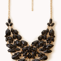 Glam Out Bib Necklace